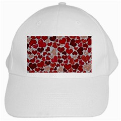 Sparkling Hearts, Red White Cap