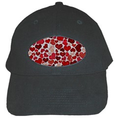 Sparkling Hearts, Red Black Cap