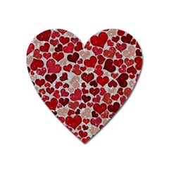 Sparkling Hearts, Red Heart Magnet