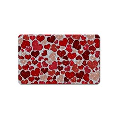 Sparkling Hearts, Red Magnet (Name Card)