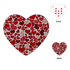 Sparkling Hearts, Red Playing Cards (heart)