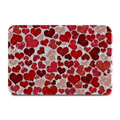 Sparkling Hearts, Red Plate Mats
