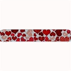 Sparkling Hearts, Red Small Bar Mats