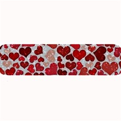 Sparkling Hearts, Red Large Bar Mats