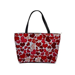 Sparkling Hearts, Red Shoulder Handbags