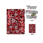 Sparkling Hearts, Red Playing Cards 54 (Mini)  Front - Joker2