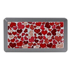 Sparkling Hearts, Red Memory Card Reader (Mini)