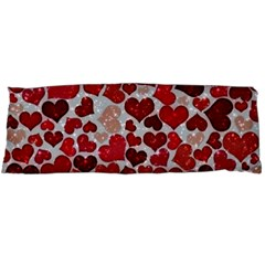 Sparkling Hearts, Red Body Pillow Cases Dakimakura (Two Sides)