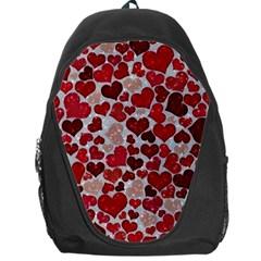 Sparkling Hearts, Red Backpack Bag