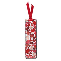 Sparkling Hearts, Red Small Book Marks