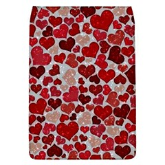 Sparkling Hearts, Red Flap Covers (L)