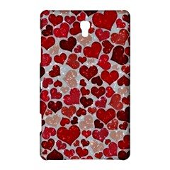 Sparkling Hearts, Red Samsung Galaxy Tab S (8.4 ) Hardshell Case