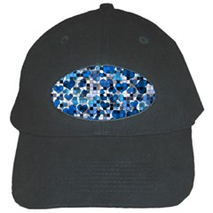 Hearts And Checks, Blue Black Cap