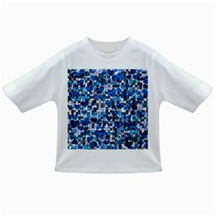 Hearts And Checks, Blue Infant/Toddler T-Shirts