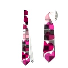 Hearts And Checks, Pink Neckties (One Side)