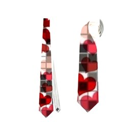 Hearts And Checks, Red Neckties (One Side)