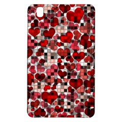 Hearts And Checks, Red Samsung Galaxy Tab Pro 8.4 Hardshell Case