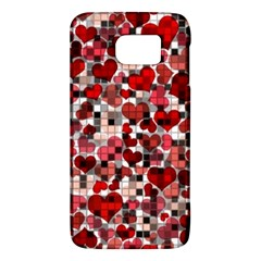 Hearts And Checks, Red Galaxy S6