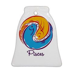Pisces Star Sign Ornament (Bell)