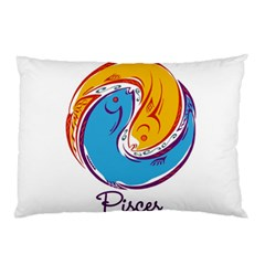 Pisces Star Sign Pillow Cases (Two Sides)