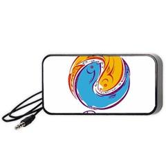 Pisces Star Sign Portable Speaker (Black)