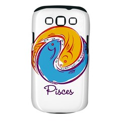 Pisces Star Sign Samsung Galaxy S III Classic Hardshell Case (PC+Silicone)