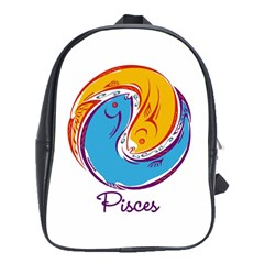 Pisces Star Sign School Bags (XL)