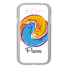 Pisces Star Sign Samsung Galaxy Grand DUOS I9082 Case (White)