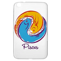 Pisces Star Sign Samsung Galaxy Tab 3 (8 ) T3100 Hardshell Case
