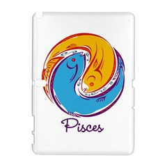 Pisces Star Sign Samsung Galaxy Note 10.1 (P600) Hardshell Case