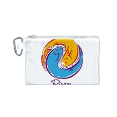 Pisces Star Sign Canvas Cosmetic Bag (s)