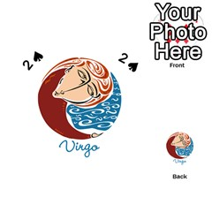 Virgo Star Sign Playing Cards 54 (heart)