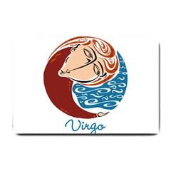 Virgo Star Sign Small Doormat