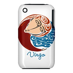 Virgo Star Sign Apple iPhone 3G/3GS Hardshell Case (PC+Silicone)