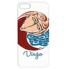 Virgo Star Sign Apple iPhone 5 Hardshell Case with Stand