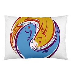 Two Fish Pillow Cases (two Sides)