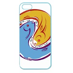 Two Fish Apple Seamless iPhone 5 Case (Color)