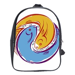 Two Fish School Bags (XL)