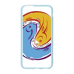 Two Fish Apple Seamless iPhone 6 Case (Color)