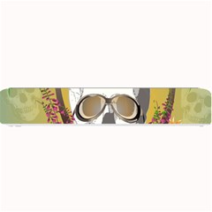 Funny Skull With Sunglasses And Palm Small Bar Mats