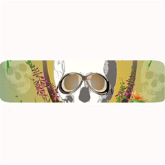 Funny Skull With Sunglasses And Palm Large Bar Mats