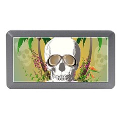 Funny Skull With Sunglasses And Palm Memory Card Reader (Mini)