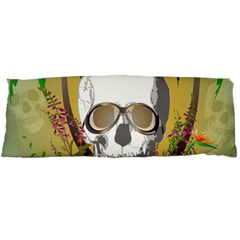 Funny Skull With Sunglasses And Palm Body Pillow Cases (Dakimakura)