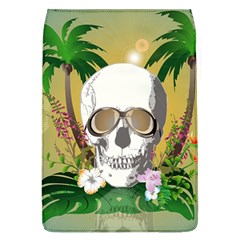 Funny Skull With Sunglasses And Palm Flap Covers (L)
