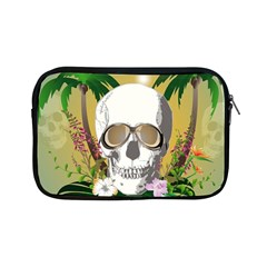 Funny Skull With Sunglasses And Palm Apple iPad Mini Zipper Cases