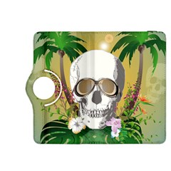 Funny Skull With Sunglasses And Palm Kindle Fire HDX 8.9  Flip 360 Case