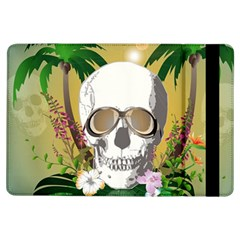 Funny Skull With Sunglasses And Palm iPad Air Flip