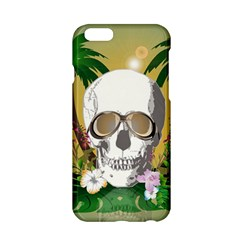 Funny Skull With Sunglasses And Palm Apple iPhone 6/6S Hardshell Case
