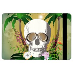 Funny Skull With Sunglasses And Palm iPad Air 2 Flip