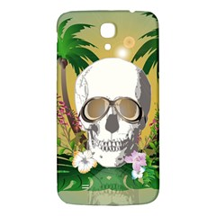 Funny Skull With Sunglasses And Palm Samsung Galaxy Mega I9200 Hardshell Back Case